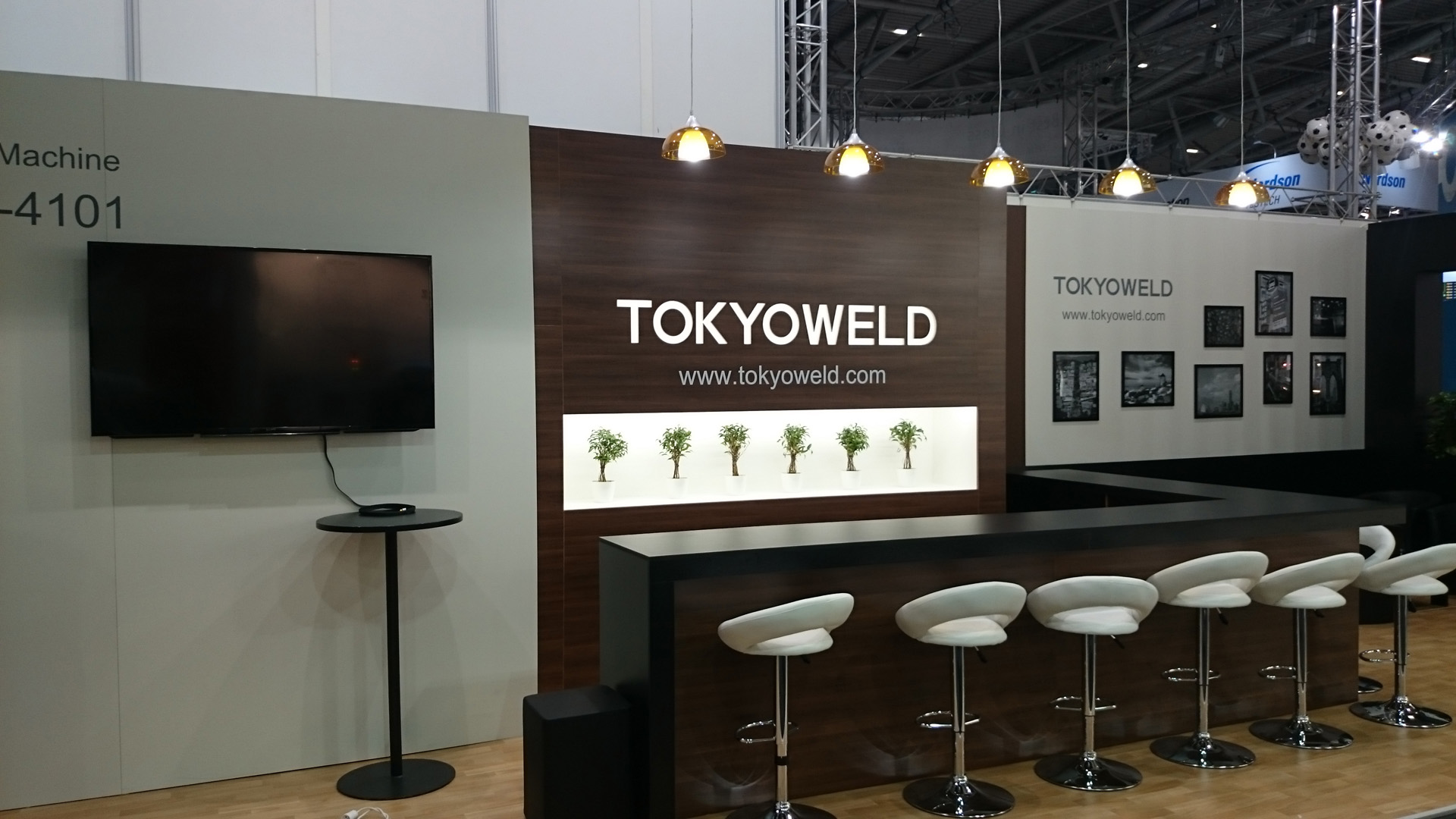 Tokyoweld Productronica Munchen