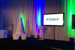 world largest 3D puzzle in shape of tooth Fona Night Event Cologne